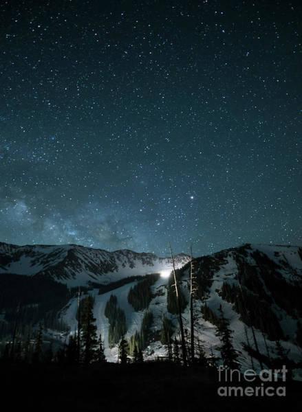 Wall Art - Photograph - A-basin At Night by Juli Scalzi