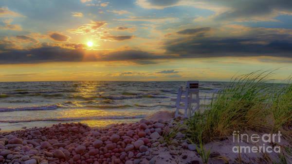 Photograph - A Beachy Sunset by Rod Best