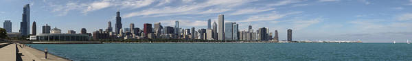 Photograph - A Beautiful Day In Chicago by Robert Harshman