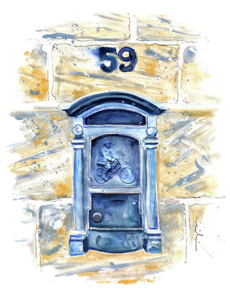 Painting - A Beautiful Letterbox On Gozo by Miki De Goodaboom