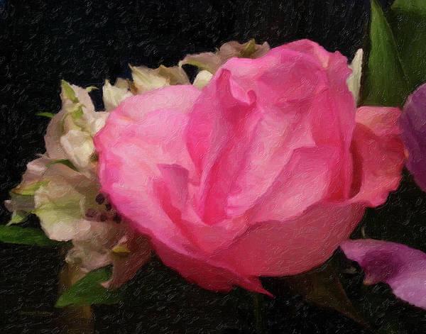 Painting - A Beautiful Rose by Gerlinde Keating - Galleria GK Keating Associates Inc