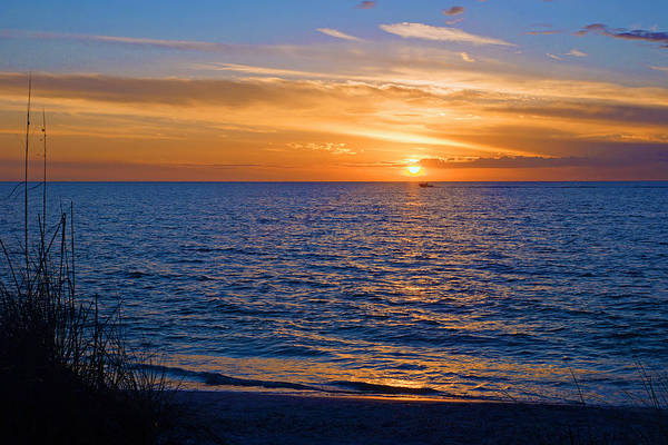 A Beautiful Sunset In Naples, Fl Art Print