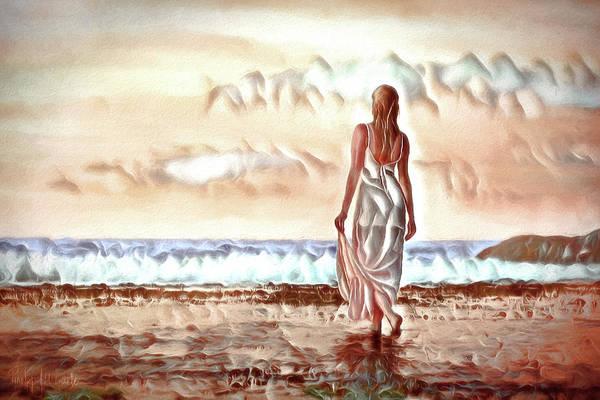 Digital Art - A Beautiful World by Pennie McCracken