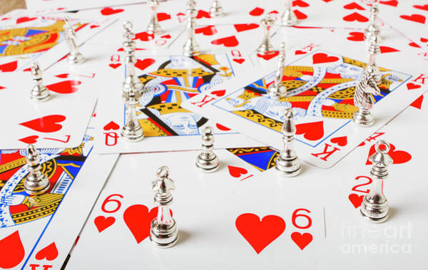 Chance Photograph - A Betting Battle by Jorgo Photography - Wall Art Gallery