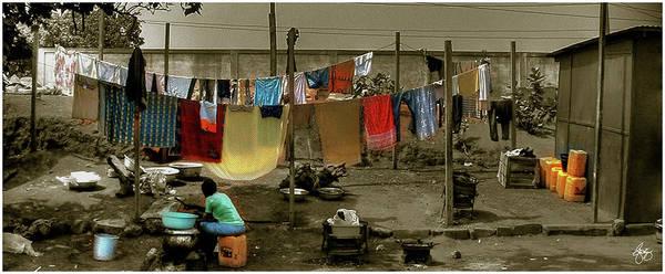 Photograph - A Big Wash by Wayne King