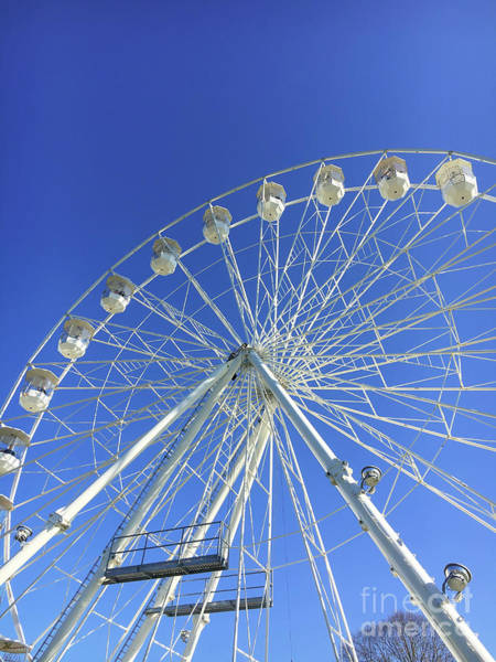 Wall Art - Photograph - A Big Wheel by Tom Gowanlock