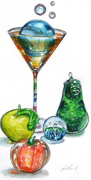 Painting - A Bit Of The Bubbly by Jane Loveall