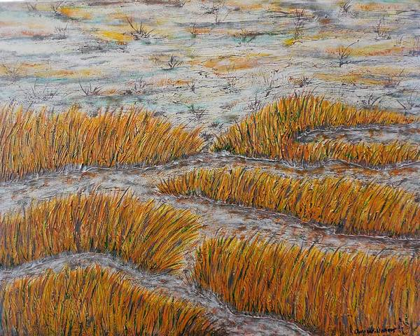 Don Williams Painting - A Bit Of The Pagan River Marsh by Don Williams