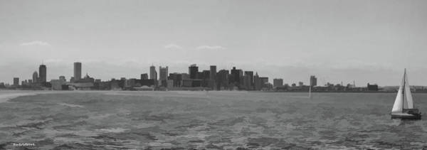 Photograph - A Boston View In Black And White by Roberta Byram