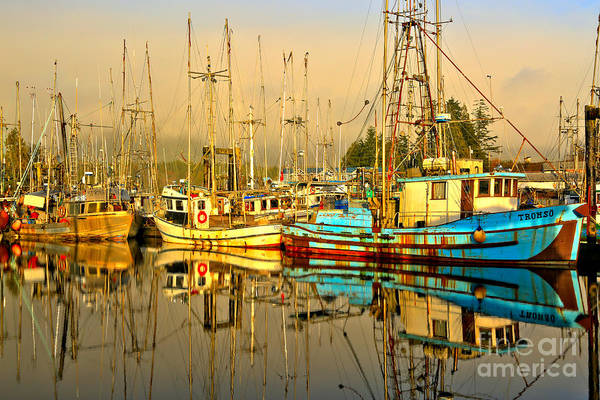 Port Of Vancouver Wall Art - Photograph - A Break From Fishing by Adam Jewell