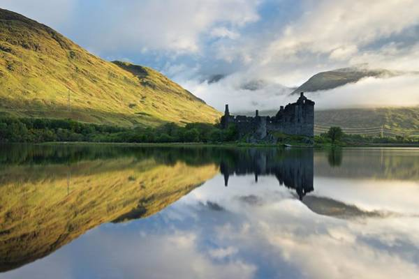 Photograph - A Break Of Light At Loch Awe by Stephen Taylor