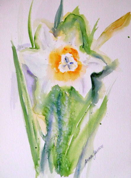 Painting - A Breath Of Spring by Anna Jacke