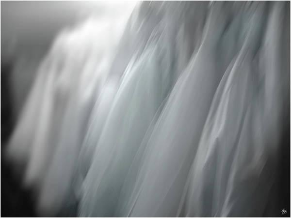Photograph - A Brides Blue Dreams by Wayne King