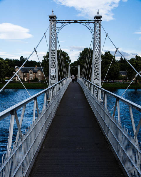 Photograph - A Bridge For Walking by Chris Coffee