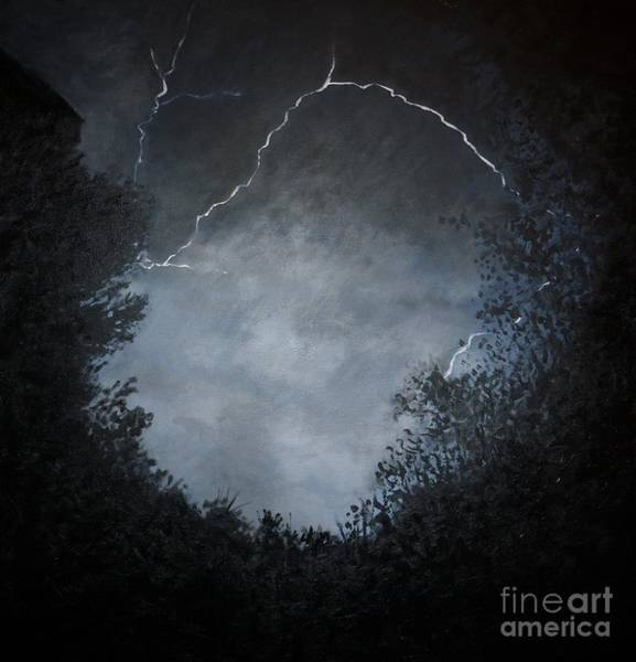 Lightening Painting - A Brief Moment In Time by Paul Horton