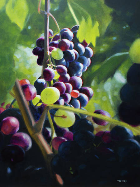 Painting - A Bunch Of Variety by Christopher Reid