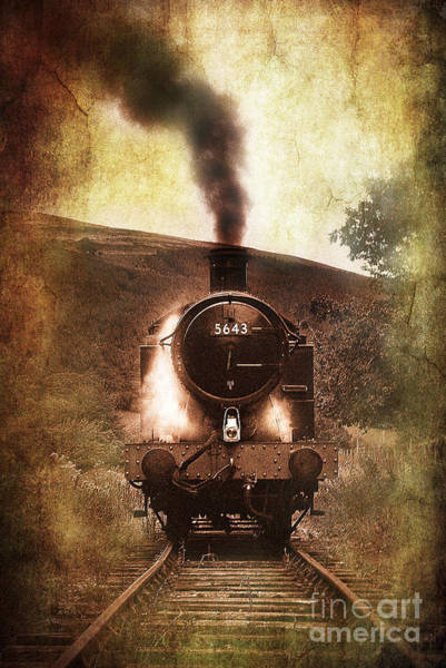 Steam Engine Photograph - A Bygone Era by Meirion Matthias