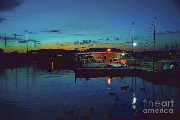 Photograph - A Cabin On The Lake by Diana Mary Sharpton