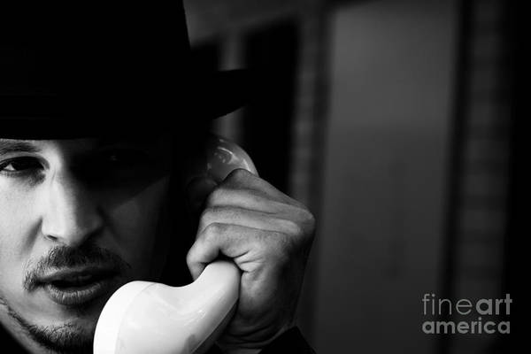 Difficult Photograph - A Call Of Ransom by Jorgo Photography - Wall Art Gallery