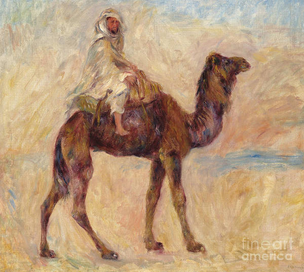 Wall Art - Painting - A Camel by Pierre Auguste Renoir