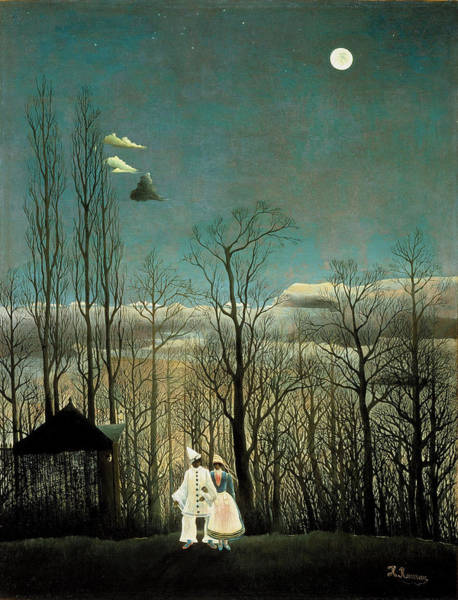Painting - A Carnival Evening by Henri Rousseau