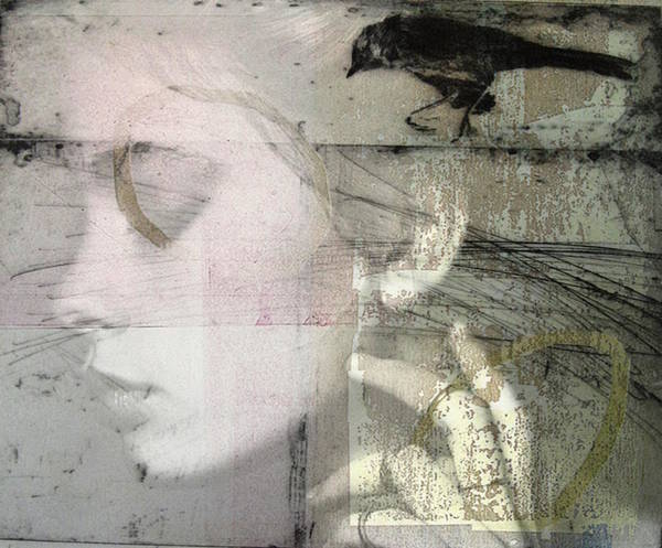 Girl Mixed Media - A Case Of You  by Paul Lovering