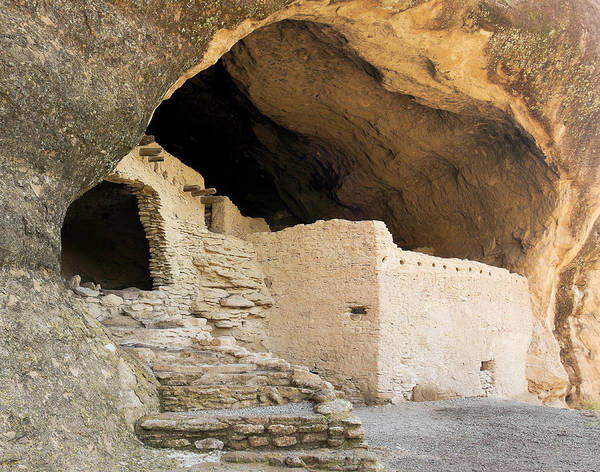 Wall Art - Photograph - A Cave 3 Scene At The Gila Cliff Dwellings by Derrick Neill