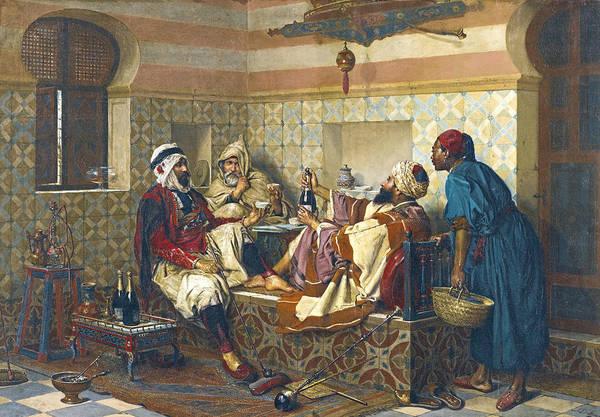 Painting - A Celebration by Jan-Baptist Huysmans