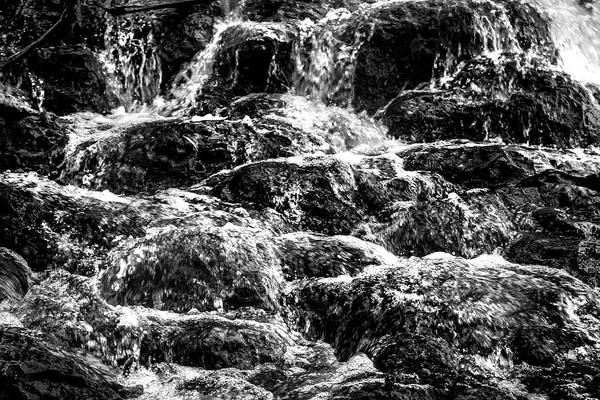 Black And White Nature Photograph - A Chaotic Passage by Az Jackson