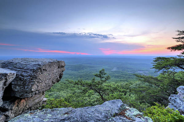 Photograph - A Cheaha Sunset by JC Findley