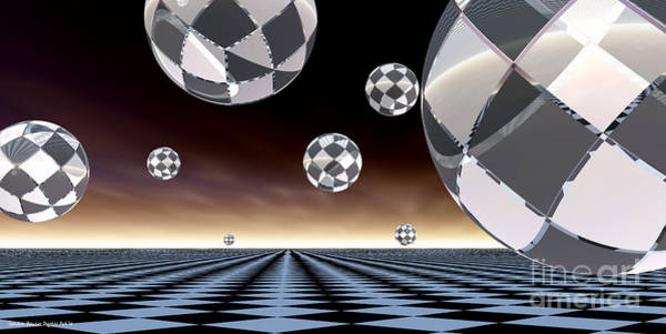 A Checkered Past Art Print by Sandra Bauser Digital Art