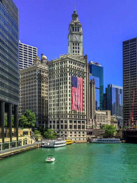 Chicago Tribune Wall Art - Photograph - A Chicago Fourth by Andrew Soundarajan