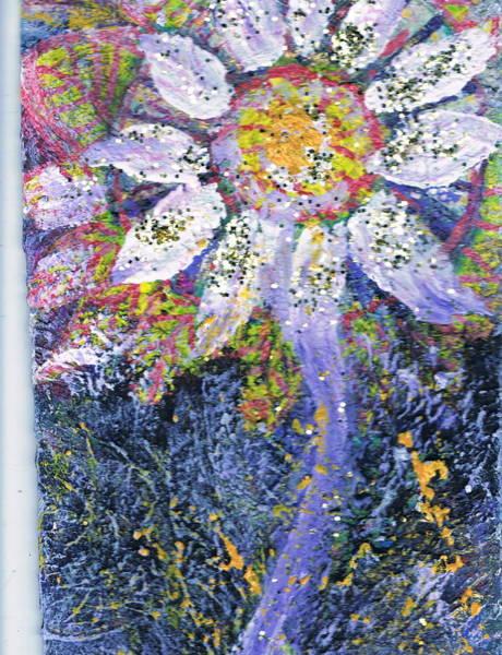 A Child Is Like A Flower Art Print by Anne-Elizabeth Whiteway