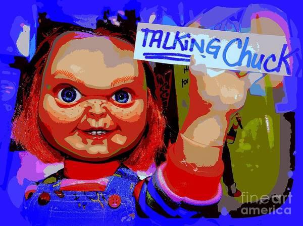 Chucky Wall Art - Photograph - A Childs Best Friend by Ed Weidman