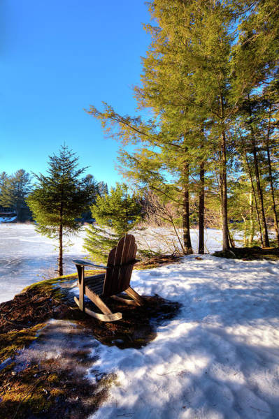 Photograph - A Chilly View by David Patterson