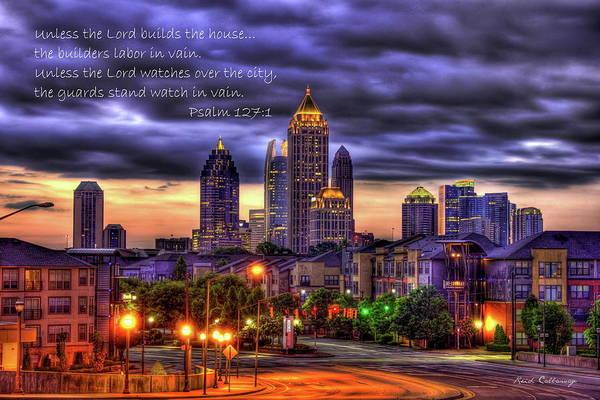 Atlanta Symphony Orchestra Photograph - A Choice Atlanta Midtown Towers Over Atlantic Commons Art  by Reid Callaway