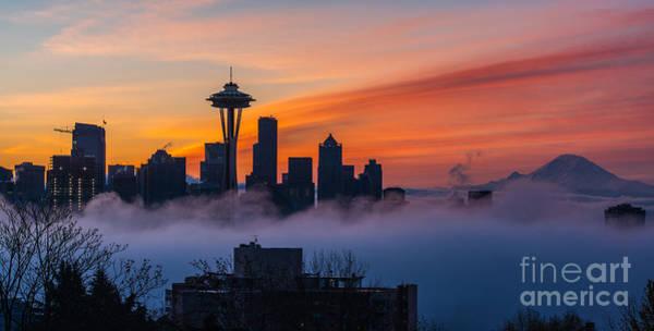 Elliott Photograph - A City Emerges by Mike Reid