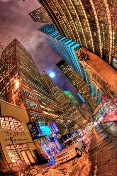 Fisheye Photograph - A City's Patience by Joshua Ball