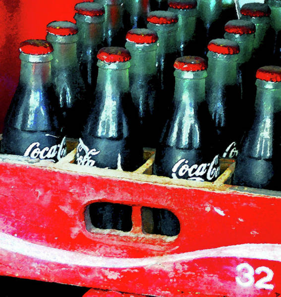 Coca Cola Painting - A Classic Case by David Lee Thompson