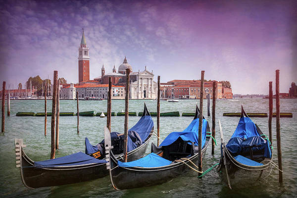 Gondola Photograph - A Classic View Of Venice Italy  by Carol Japp