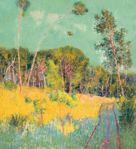 Painting - A Clearing In The Forest by John Peter Russell