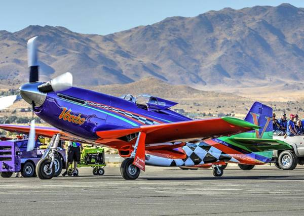 Photograph - A Closer Look At Voodoo Engine Start Sundays Unlimited Gold Race by John King