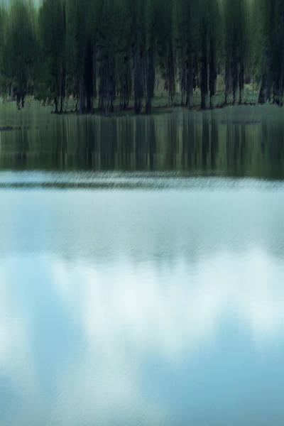 Photograph - A Cloudy Day At The Lake by Deborah Hughes