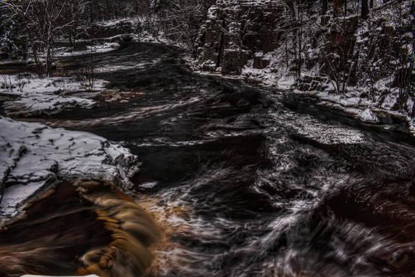 Photograph - A Cold Eau Claire River by Dale Kauzlaric