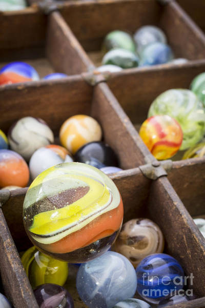 Photograph - A Collection Of Marbles by Edward Fielding