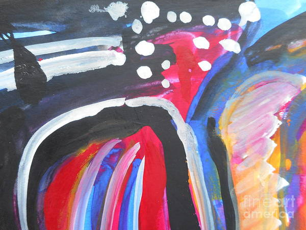 Painting - A Colorful Path by Katerina Stamatelos