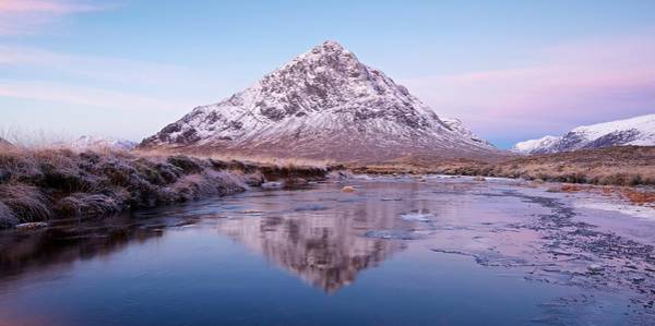 Photograph - A Colourful Dawn In Glencoe by Stephen Taylor