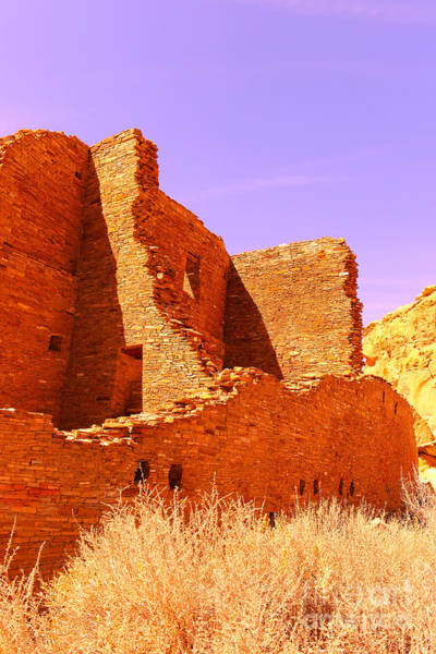 Chaco Canyon Wall Art - Photograph - A Corner In The Ancient World by Jeff Swan
