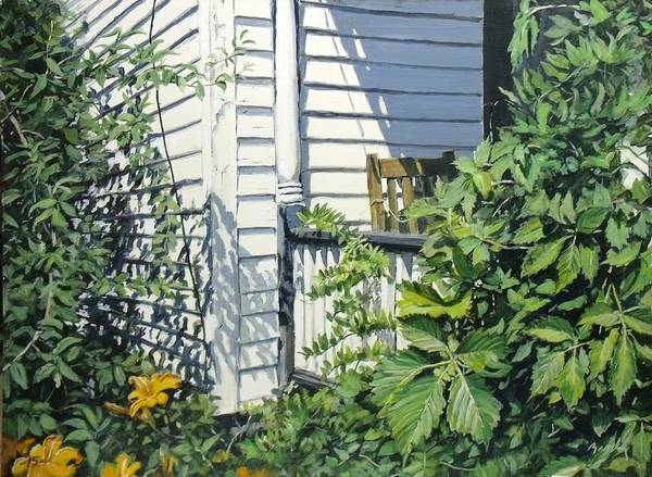 Painting - A Corner Of Summer by William Brody