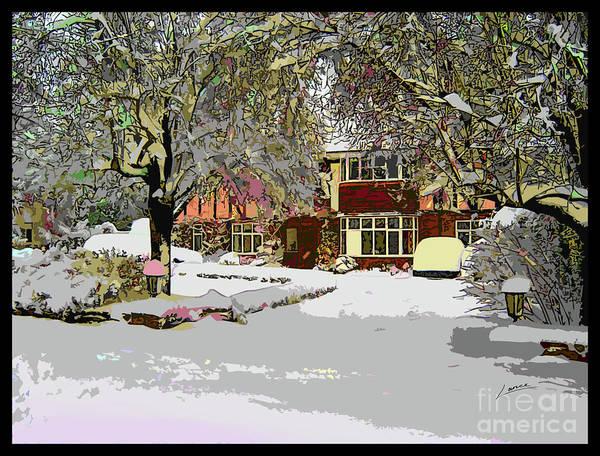 Digital Art - A Cosy Home by Lance Sheridan-Peel